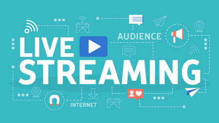 Live video streaming in a social network