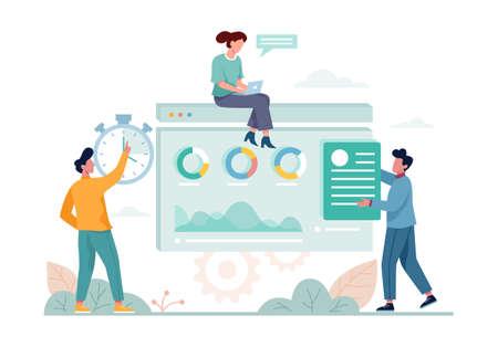 SEO concept. Idea of search engine optimization