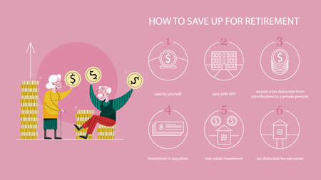 How to save money for retirement, financial tips.
