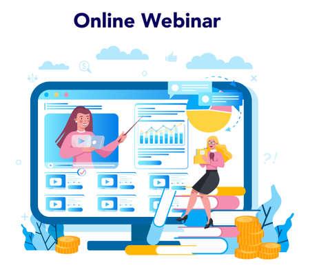 Trendwatcher online service or platform. Webinar, consultation