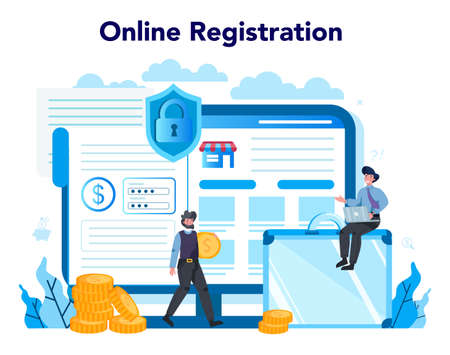 Armored cash truck security online service or platform. Money