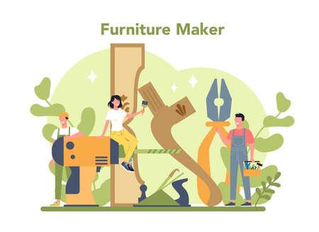 Wooden furniture maker or designer. Wood furniture repair