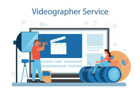 Video production or videographer online service or platform