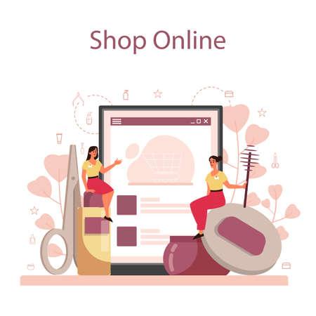 Eyebrow master and designer online service or platform. Master