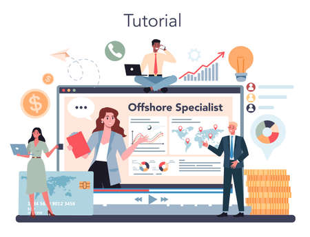 Offshore specialist or company online service or platform.