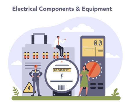 Electrical components and equipment industry. Heavy electricity