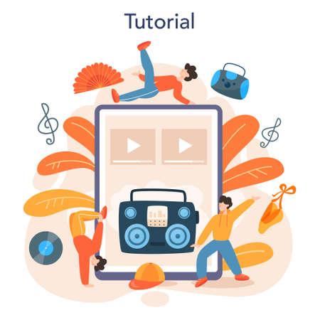 Dance teacher or choreographer online service or platform