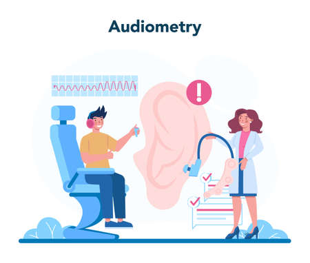 Otorhinolaryngologist concept. Healthcare concept, idea of ENT