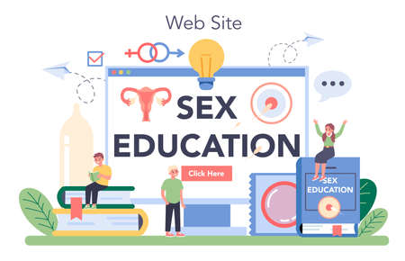 Sexual education online service or platform. Sexual health