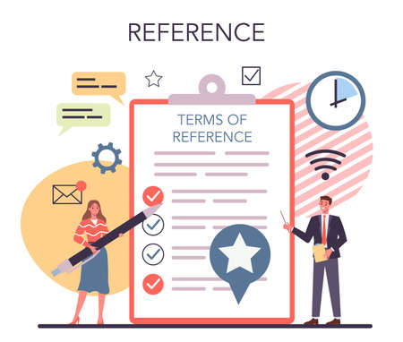 TOR - term of reference concept. Structure of a business project,