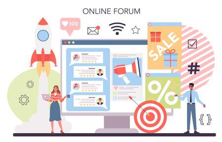 SMM and website promotion online service or platform