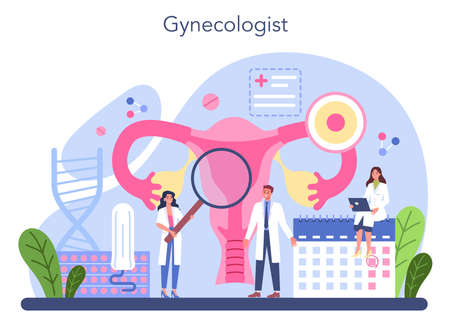 Gynecologist concept. Women health doctor, IVF specialist.