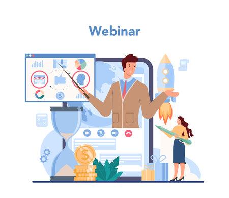 Trendwatcher online service or platform. Specialist in tracking Illustration
