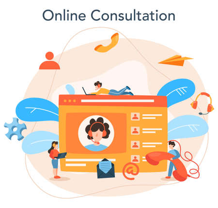 Professional consulting service. Research and recommendation. Idea of strategy