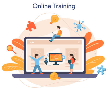 Roboticist online service or platform. Robotic engineering