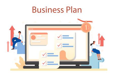 Brand mission online service or platform. Start up development