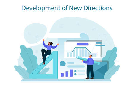 New business directions development concept. Business expansion