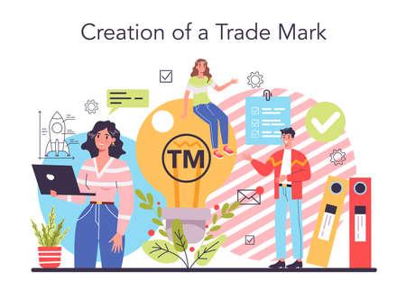 New company, trade mark registration. Business start up form