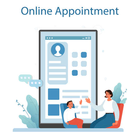 Speech therapist online service or platform. Didactic correction