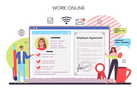 Worker responsibilities online service or platform. Personnel management