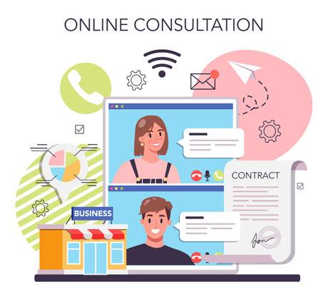 Selling business online service or platform. Selling agreement