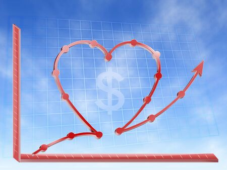 graphic financial of success other love money graphic hearth form photo