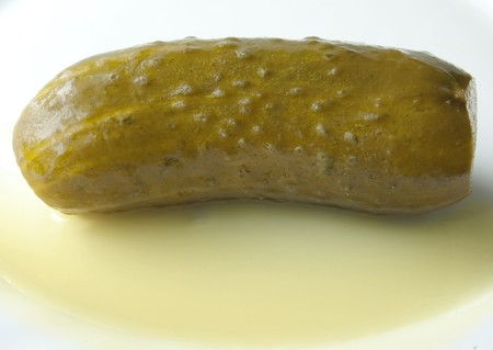 brine: juicy gherkin with brine