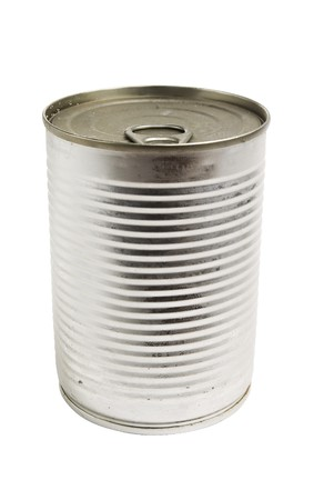 aluminum cans: Tin Can isolated
