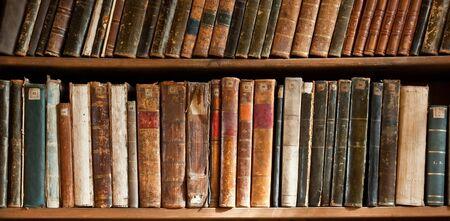 vieux livres: Ligne de livres antique en anglais