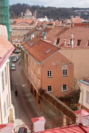 vilnius: Vilnius city view