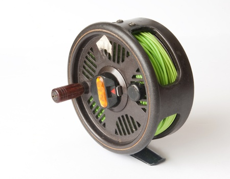 reel for a fishing tackle photo