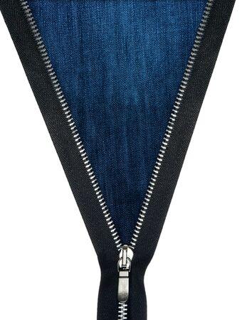 zipper unzipped jeans texture