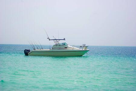 Fishing boat in Dubai photo