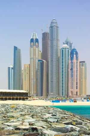 Dubai Town scape in Dubai, United Arab Emirates photo