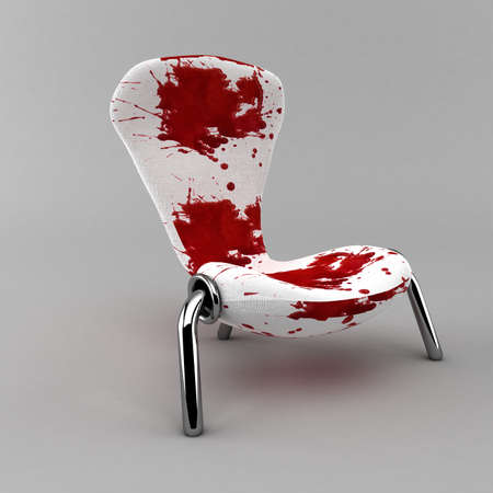 bloody chair