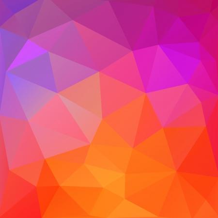 music figure: Colorful geometric modern pattern