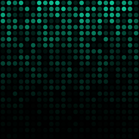 Abstract Green Background, vector illustration  Vector