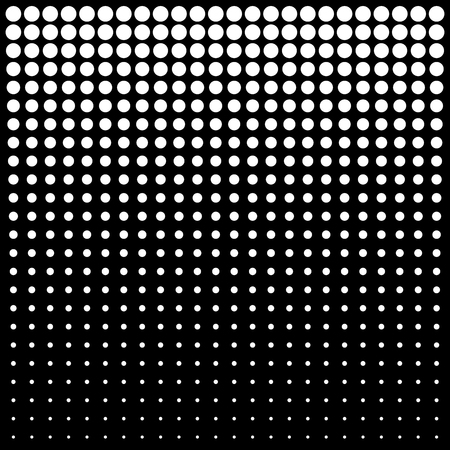 dots: Abstract Halftone Background, vector illustration