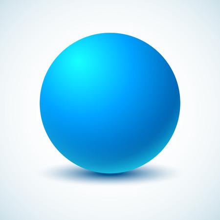 blue ball: Blue ball Illustration