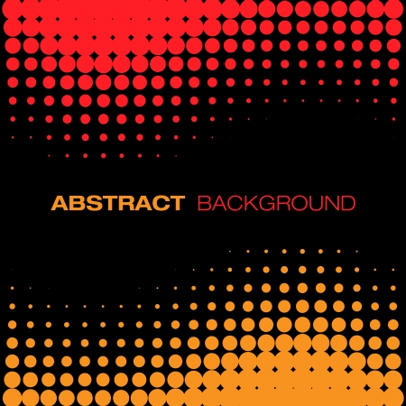 ring tones: Abstract Black Red Yellow Halftone Background