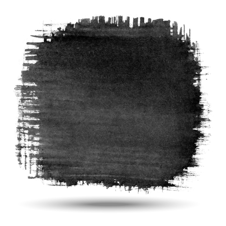charcoal: Hand Drawn Watercolor Grunge background   Illustration