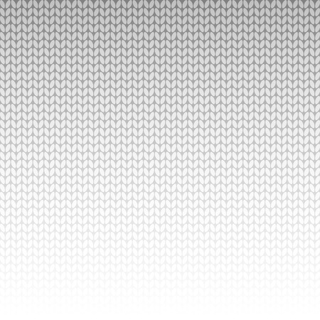 knitted background: grey knitted background Illustration