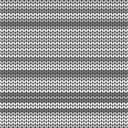 knitted fabrics: Dark Gray striped knitted background