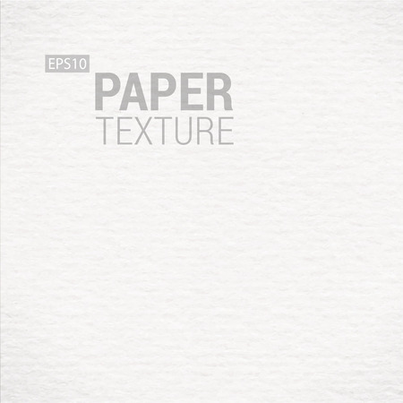 Realistic White Paper Background Texture. Vector illustration  Vector