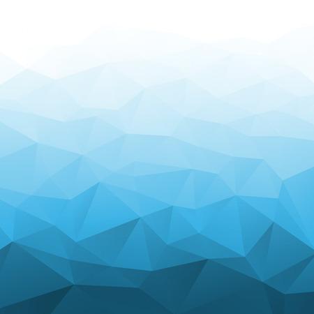 Abstrakte Farbverlauf Blau geometrischen Hintergrund. Vector Illustration Standard-Bild - 28573221