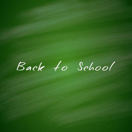 green chalkboard: Back to School Green Chalkboard Background  Illustration