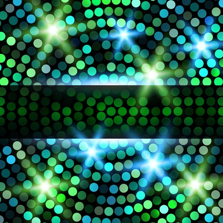 shines: Abstract Circular Colorful Party Background