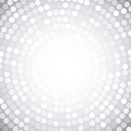 Abstract Circular Gray Background  Vector