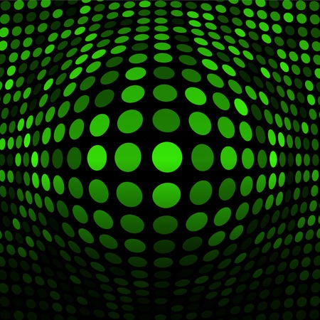 Abstract Green Technology Background