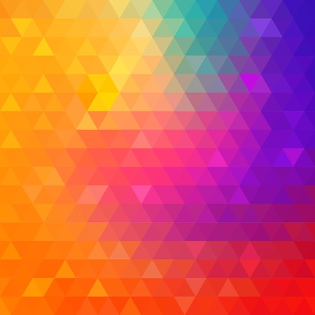 bright colors: Colorful Bright Geometric Background  Illustration
